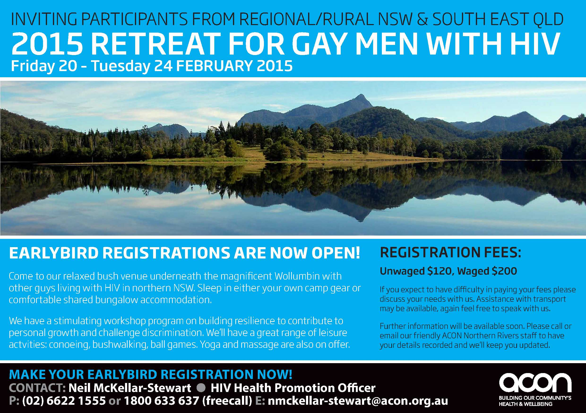 2015 Northern Rivers Gay Men Retreat_